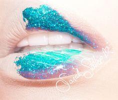 Glitter Lips by Sarah Steller