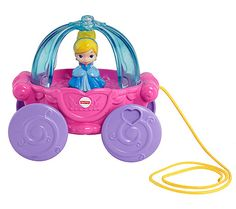 Black Friday 2014 Disney Baby Cinderella Musical Carriage Pull Toy from Fisher-Price Cyber Monday Disney Princess Carriage, Disney Princess Toys, Disney Toys, Baby Disney, Princess Room, Baby Princess, Princess Party, Cinderella Musical, Baby Cinderella