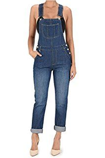 3effe56aad Shop a great selection of TwiinSisters TwiinSisters Women s Basic Boyfriend  Fit Denim Bib Overalls Plus. Find new offer and Similar products for ...