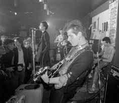 Ray Stevenson: Siouxsie and the Banshees – Siouxsie Sioux, Steve Severin Sid Vicious (on drums) and Marco Pirroni. Siouxsie and the Banshees first gig at the 100 club, London – 1976