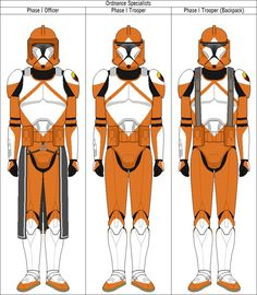 Clone Trooper Ordnance Specialists by QuillSpirit15971