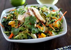 Thai Chicken Chopped Kale Salad