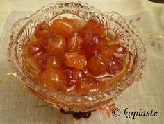 Glyko Kerassi (Cherry Spoon Sweet)