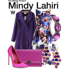 Inspired by Mindy Kaling as Mindy Lahiri on The Mindy Project.