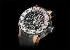 Richard Mille RM 025 Tourbillon Chronograph Diver's Watch – Too good for diving? - Monochrome Watches