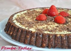 Non-cooking Practical Tart Recipe, How-To - Handan - - Non-cooking Practical Tart Recipe, How-To - Handan Tart Recipes, Cheesecake Recipes, Dessert Recipes, Cooking Recipes, Pasta Cake, Delicious Desserts, Yummy Food, Turkish Recipes, Something Sweet