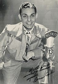 And who remembers Benny Carle?  Also a star on Birmingham kid shows in the 50's and 60's.