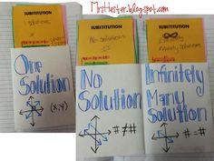 Mrs. Hester's Classroom: Algebra 1 Pockets for interactive journal