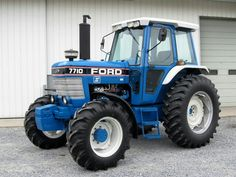 1986 FORD 7710 II FWD
