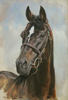 Charles Church - Painter of horses, landscapes and country life