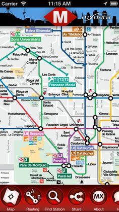 barcelona metro map 2013 pdf