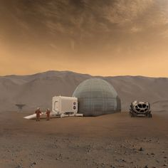 When astronauts set foot on Mars, they may stay for months rather than days as they did during Apollo missions to the moon. The surface of Mars has extreme temperatures and the atmosphere does not provide adequate protection from high-energy radiation. These explorers will need shelters to effectively protect them from the harsh Martian environment and provide a safe place to call home.