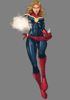 Carol Danvers Captain Marvel | Carol Danvers/Captain Marvel by scyfon