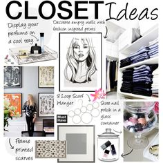 """Ideas For Your Closet Space"" by bellamarie on Polyvore"