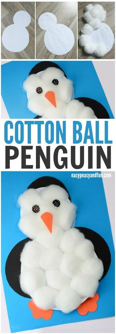 Adorable-Cotton-Balls-Penguin-Craft-for-Kids-to-Make.jpg 700×2,000 pixels