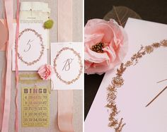 DIY: Romantic Table Numbers - Project Wedding