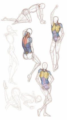 Figures in Sketcbook Mobile.