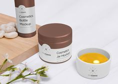 Free cosmetic jar and bottle mockups to present your branding packaging design in a photorealistic way. Very simple edit with smart layers. This mockup is free for both personal and commercial purposes. E Cosmetics, Cosmetics Mockup, Cosmetic Bottles, Bottle Mockup, Cosmetic Packaging, Dose, Packaging Design, Brand Packaging, Branding Design