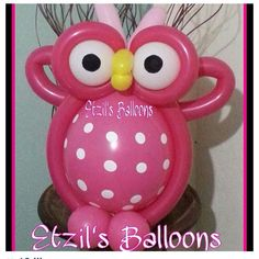 Owl balloon art #owl #bird #balloon #sculpture #twist #animal #art