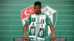 Under-Fire Super Eagles Midfielder Mikel Agu Scores, Gets Assist For Bursaspor