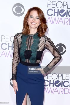Actress Sarah Drew attends the People's Choice Awards 2016 at Microsoft Theater on January 6, 2016 in Los Angeles, California.