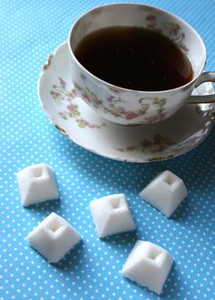 Pinkies Out: How to Make Homemade Sugar Cubes