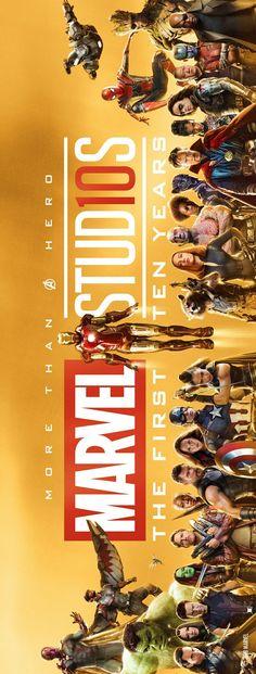 Marvel Studios CUMPLE 10 AÑOS!!!!!