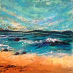 moy mackay | The Clear Blue by Moy Mackay . FELT.