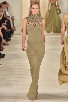 Ralph Lauren Spring 2015 Ready-to-Wear - Collection - Gallery - Look 1 - Style.com