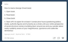 Because sometimes you wanna reminisce about books that were meaningful to you. | 27 Reasons Literary Nerds Will Love Tumblr