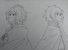 Hyakuya Mikaela and Hyakuya Yuu