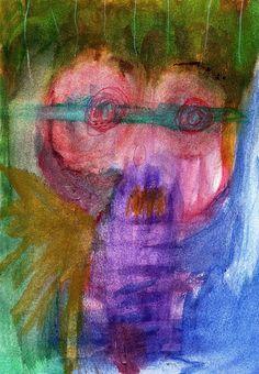 """Buenos días, Su Señoría Gusano (cita a """"The trial"""", de Pink Flyd) - Autor:Claudio Braier"""