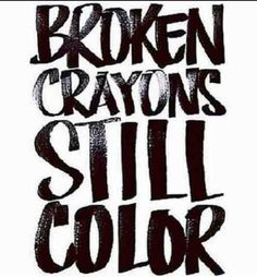 Just a test of what you went through and have shown your true color. Shine bright