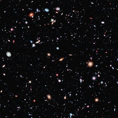 The Hubble Space Telescope has caught the farthest view into the unvierse yet, an Extreme Deep Field image that reveals galaxies dating back billion years into the universe& past. NASA released the new Hubble survey on Tuesday, Sept. Cosmos, Fotos Do Hubble, Deep Images, Dark Energy, Hubble Images, Hubble Photos, Hubble Pictures, Astronomy Pictures, Deep Space