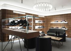 David Chipperfield's flagship store for Bally opens in London