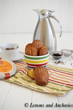Honey Mango Madeleines from @Jean | Lemons and Anchovies