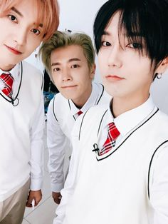 Leeteuk, Donghae and Yesung//Super Junior