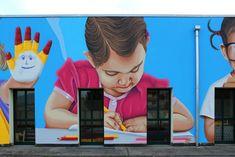 https://flic.kr/p/J1V9Yt | Nursery school - Right side - Detail 3 - by WIZ ART | Pedrengo (BG) - Italy - 2017 Visit my social network:  www.facebook.com/wizartgraffiti/ wizartmurales.blogspot.it/ twitter.com/WizArtGraffiti instagram.com/wiz_art_graffiti/ wizartgraffiti.tumblr.com/