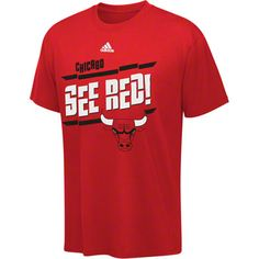 Chicago Bulls adidas Fan Frenzy Youth T-Shirt - Red $17.99 #SeeRed