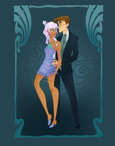 14 Disney Couples Go To Prom- Kida and Milo