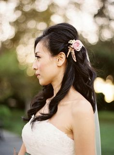 Wedding Hair With Flowers | POPSUGAR Beauty