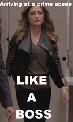Maura Arrives on the scene Like a Boss!