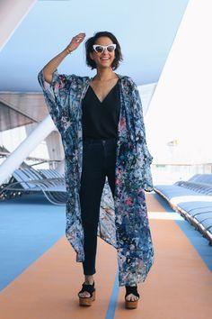 Printed Kimono by Twist & Tango - style in lima