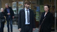 David and Olivia in Broadchurch