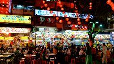 Street food scene. Kuala Lumpur, Malaysia.