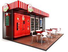 An Entire Pizzeria in a Vending Machine? via Brit + Co.