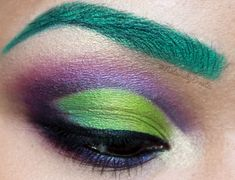 The Accidental Incredible Hulk Makeup by NaturallyErratic.deviantart.com on @deviantART