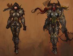 Diablo 3 - Female Demon Hunter