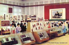 Retro DPRK (North Korea) : 1976 People's House of Culture -- Bookshop