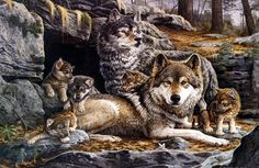 paintings+of+wildlife+and+nature | paintings wildlife and nature first spring back to wildlife nature ...